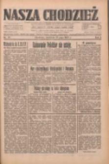 Nasza Chodzież: dziennik poświęcony obronie interesów narodowych na zachodnich ziemiach Polski 1933.05.21 R.4 Nr117
