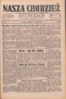 Nasza Chodzież: dziennik poświęcony obronie interesów narodowych na zachodnich ziemiach Polski 1933.05.30 R.4 Nr123
