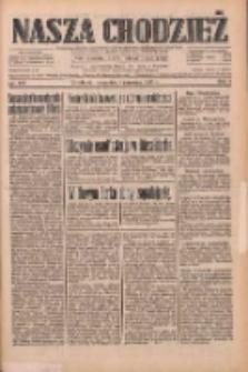 Nasza Chodzież: dziennik poświęcony obronie interesów narodowych na zachodnich ziemiach Polski 1933.06.01 R.4 Nr125