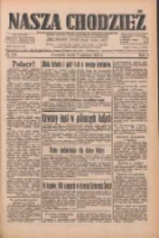 Nasza Chodzież: dziennik poświęcony obronie interesów narodowych na zachodnich ziemiach Polski 1933.06.07 R.4 Nr129