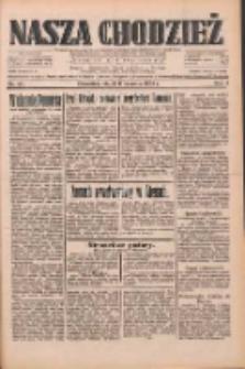Nasza Chodzież: dziennik poświęcony obronie interesów narodowych na zachodnich ziemiach Polski 1933.06.09 R.4 Nr131