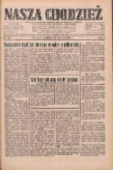 Nasza Chodzież: dziennik poświęcony obronie interesów narodowych na zachodnich ziemiach Polski 1933.06.11 R.4 Nr133