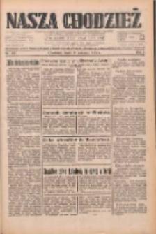 Nasza Chodzież: dziennik poświęcony obronie interesów narodowych na zachodnich ziemiach Polski 1933.06.14 R.4 Nr135