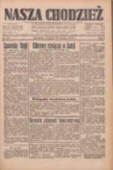 Nasza Chodzież: dziennik poświęcony obronie interesów narodowych na zachodnich ziemiach Polski 1933.06.22 R.4 Nr141