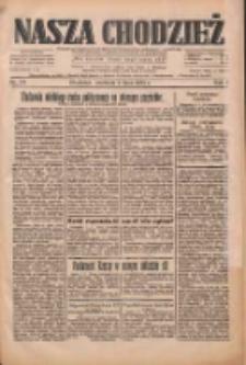 Nasza Chodzież: dziennik poświęcony obronie interesów narodowych na zachodnich ziemiach Polski 1933.07.09 R.4 Nr155