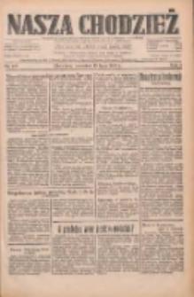 Nasza Chodzież: dziennik poświęcony obronie interesów narodowych na zachodnich ziemiach Polski 1933.07.13 R.4 Nr158