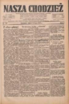 Nasza Chodzież: dziennik poświęcony obronie interesów narodowych na zachodnich ziemiach Polski 1933.07.14 R.4 Nr159