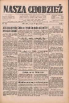 Nasza Chodzież: dziennik poświęcony obronie interesów narodowych na zachodnich ziemiach Polski 1933.07.19 R.4 Nr163
