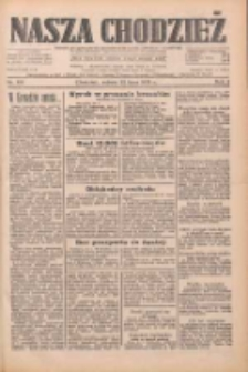 Nasza Chodzież: dziennik poświęcony obronie interesów narodowych na zachodnich ziemiach Polski 1933.07.22 R.4 Nr166