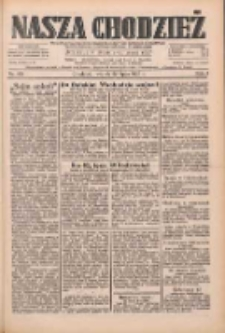 Nasza Chodzież: dziennik poświęcony obronie interesów narodowych na zachodnich ziemiach Polski 1933.07.25 R.4 Nr168