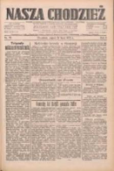 Nasza Chodzież: dziennik poświęcony obronie interesów narodowych na zachodnich ziemiach Polski 1933.07.28 R.4 Nr171