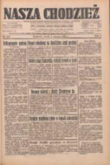 Nasza Chodzież: dziennik poświęcony obronie interesów narodowych na zachodnich ziemiach Polski 1933.08.02 R.4 Nr175