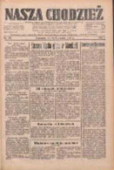 Nasza Chodzież: dziennik poświęcony obronie interesów narodowych na zachodnich ziemiach Polski 1933.08.08 R.4 Nr180
