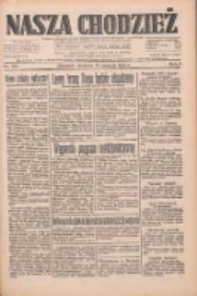 Nasza Chodzież: dziennik poświęcony obronie interesów narodowych na zachodnich ziemiach Polski 1933.08.20 R.4 Nr190