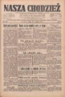 Nasza Chodzież: dziennik poświęcony obronie interesów narodowych na zachodnich ziemiach Polski 1933.08.25 R.4 Nr194
