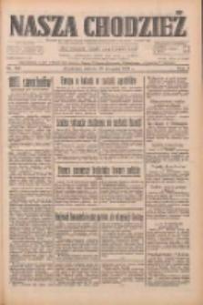 Nasza Chodzież: dziennik poświęcony obronie interesów narodowych na zachodnich ziemiach Polski 1933.08.26 R.4 Nr195