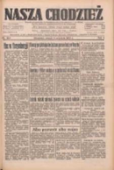 Nasza Chodzież: dziennik poświęcony obronie interesów narodowych na zachodnich ziemiach Polski 1933.09.05 R.4 Nr203
