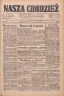 Nasza Chodzież: dziennik poświęcony obronie interesów narodowych na zachodnich ziemiach Polski 1933.09.07 R.4 Nr205