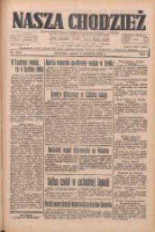 Nasza Chodzież: dziennik poświęcony obronie interesów narodowych na zachodnich ziemiach Polski 1933.09.08 R.4 Nr206