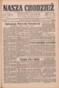 Nasza Chodzież: dziennik poświęcony obronie interesów narodowych na zachodnich ziemiach Polski 1933.09.09 R.4 Nr207