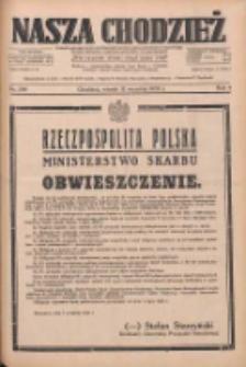 Nasza Chodzież: dziennik poświęcony obronie interesów narodowych na zachodnich ziemiach Polski 1933.09.12 R.4 Nr209
