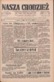 Nasza Chodzież: dziennik poświęcony obronie interesów narodowych na zachodnich ziemiach Polski 1933.09.17 R.4 Nr214