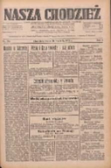 Nasza Chodzież: dziennik poświęcony obronie interesów narodowych na zachodnich ziemiach Polski 1933.09.20 R.4 Nr216