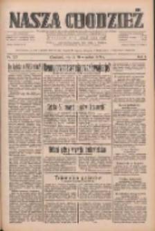 Nasza Chodzież: dziennik poświęcony obronie interesów narodowych na zachodnich ziemiach Polski 1933.09.26 R.4 Nr221