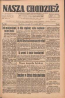 Nasza Chodzież: dziennik poświęcony obronie interesów narodowych na zachodnich ziemiach Polski 1933.09.28 R.4 Nr223