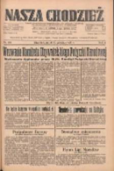 Nasza Chodzież: dziennik poświęcony obronie interesów narodowych na zachodnich ziemiach Polski 1933.09.29 R.4 Nr224
