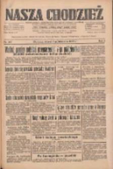 Nasza Chodzież: dziennik poświęcony obronie interesów narodowych na zachodnich ziemiach Polski 1933.10.03 R.4 Nr227