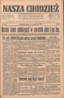 Nasza Chodzież: dziennik poświęcony obronie interesów narodowych na zachodnich ziemiach Polski 1933.10.04 R.4 Nr228