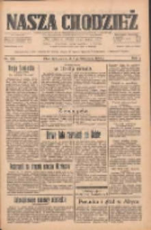 Nasza Chodzież: dziennik poświęcony obronie interesów narodowych na zachodnich ziemiach Polski 1933.10.05 R.4 Nr229