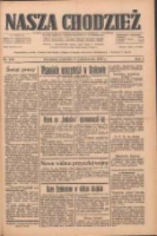 Nasza Chodzież: dziennik poświęcony obronie interesów narodowych na zachodnich ziemiach Polski 1933.10.08 R.4 Nr232