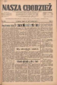 Nasza Chodzież: dziennik poświęcony obronie interesów narodowych na zachodnich ziemiach Polski 1933.10.25 R.4 Nr246