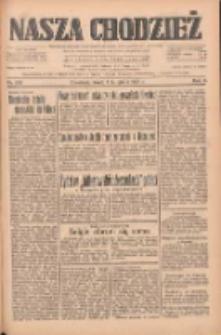 Nasza Chodzież: dziennik poświęcony obronie interesów narodowych na zachodnich ziemiach Polski 1933.11.01 R.4 Nr252