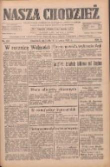 Nasza Chodzież: dziennik poświęcony obronie interesów narodowych na zachodnich ziemiach Polski 1933.11.12 R.4 Nr261
