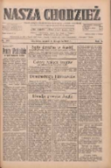 Nasza Chodzież: dziennik poświęcony obronie interesów narodowych na zachodnich ziemiach Polski 1933.11.14 R.4 Nr262