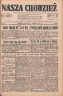 Nasza Chodzież: dziennik poświęcony obronie interesów narodowych na zachodnich ziemiach Polski 1933.11.26 R.4 Nr273