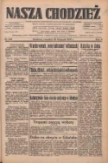 Nasza Chodzież: dziennik poświęcony obronie interesów narodowych na zachodnich ziemiach Polski 1933.11.30 R.4 Nr276