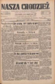 Nasza Chodzież: dziennik poświęcony obronie interesów narodowych na zachodnich ziemiach Polski 1933.12.01 R.4 Nr277