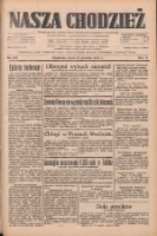 Nasza Chodzież: dziennik poświęcony obronie interesów narodowych na zachodnich ziemiach Polski 1933.12.06 R.4 Nr281