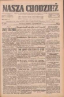 Nasza Chodzież: dziennik poświęcony obronie interesów narodowych na zachodnich ziemiach Polski 1933.12.17 R.4 Nr290