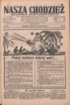 Nasza Chodzież: dziennik poświęcony obronie interesów narodowych na zachodnich ziemiach Polski 1933.12.24 R.4 Nr296