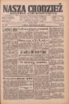 Nasza Chodzież: dziennik poświęcony obronie interesów narodowych na zachodnich ziemiach Polski 1933.12.29 R.4 Nr298