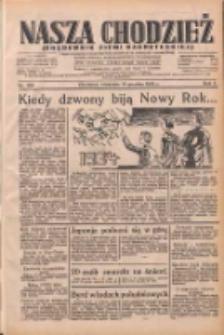Nasza Chodzież: dziennik poświęcony obronie interesów narodowych na zachodnich ziemiach Polski 1933.12.31 R.4 Nr300