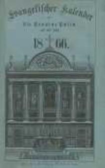 Evangelischer Kalender für die Provinz Posen auf das Jahr 1865 Jg.6