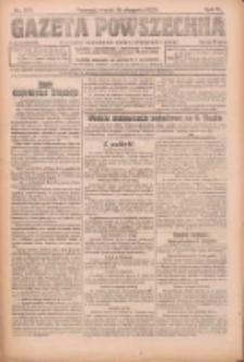 Gazeta Powszechna 1924.08.15 R.5 Nr188