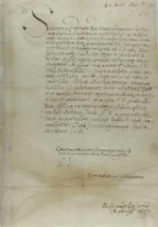 List Krystiana biskupa mündeńskiego do króla Zygmunat III, z Peterhagen 02.01.1601