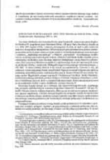Strzelczyk, Jerzy, recenzja: Heinrich II. (1002-1024). Herrscher am Ende der Zeiten, Regensburg 1999